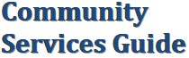Community Services Guide